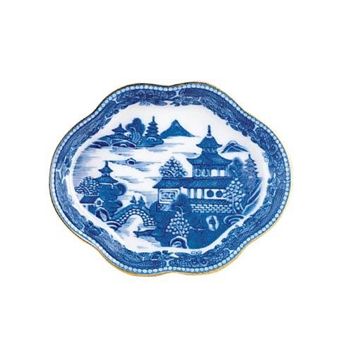 Mottahedeh  Blue Canton Lobed Tray, Small $38.00