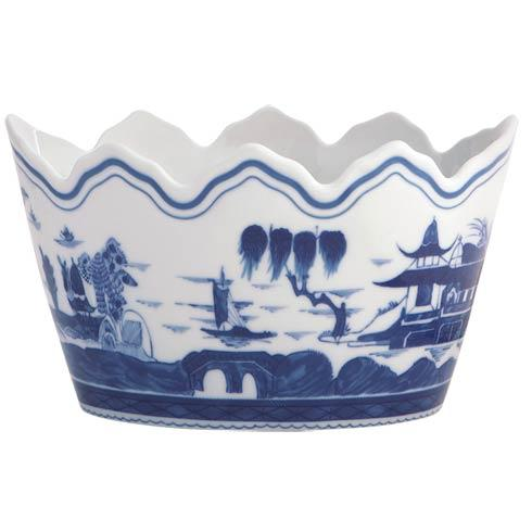 Mottahedeh  Blue Canton Monteith Cachepot $390.00