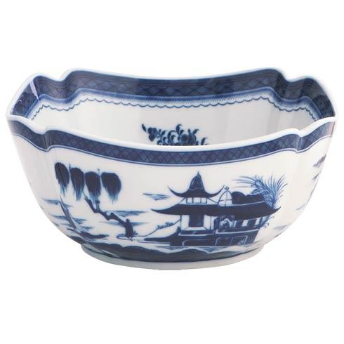 Mottahedeh  Blue Canton Square Bowl,Large $275.00