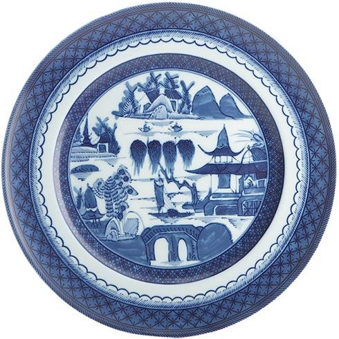 Mottahedeh  Blue Canton Dinner Plate, Large $60.00