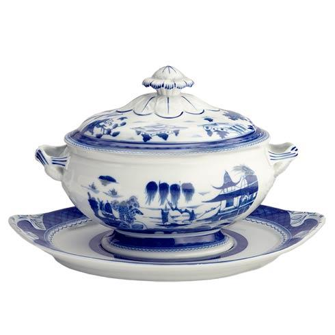 Oval Tureen & Stand