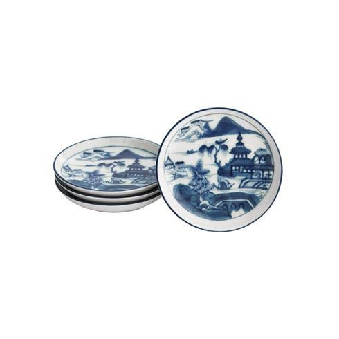 Mottahedeh  Blue Canton Coasters Set Of 4 $70.00