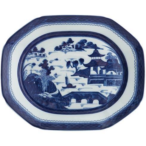 Mottahedeh  Blue Canton 15\'  Oct. Platter $365.00