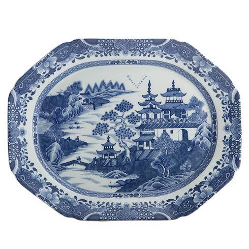 Mottahedeh  Blue Canton Medium Platter $280.00