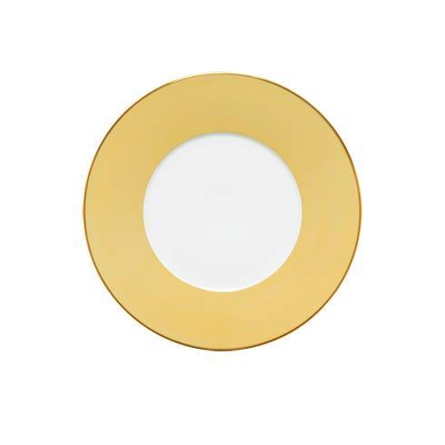 $75.00 Yellow Dessert Plate