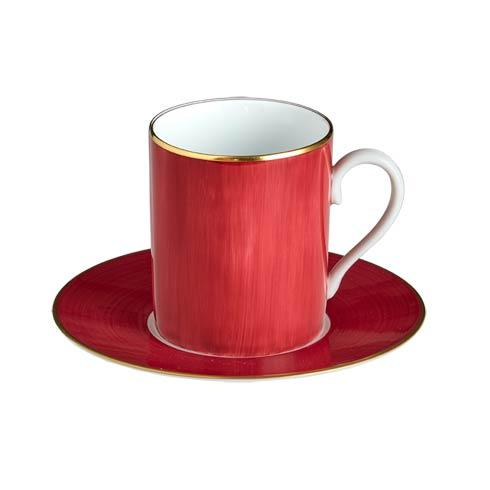 $140.00 Rouge Tall Cup & Saucer