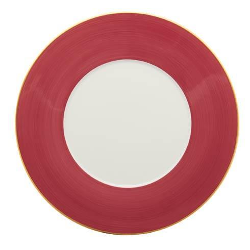 Robert Haviland & C. Parlon   Rouge Dinner Plate $80.00