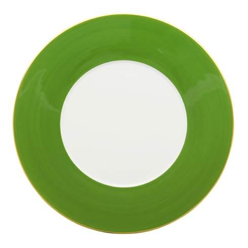 $85.00 English Green Dinner Plate