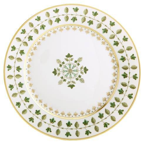 Robert Haviland & C. Parlon  Matignon Matignon Green Dinner Plate $220.00