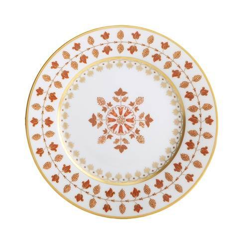 $205.00 Matignon Rust Dessert Plate