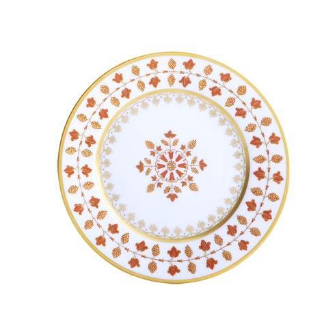 $125.00 Matignon Rust Bread & Butter Plate