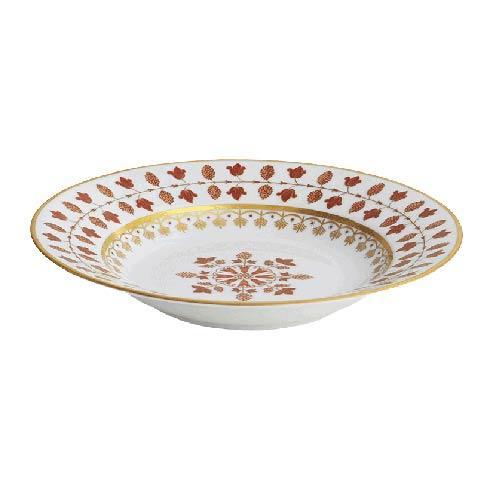$250.00 Matignon Rust French Rim Soup Plate