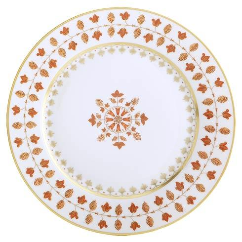 $250.00 Matignon Rust Dinner Plate