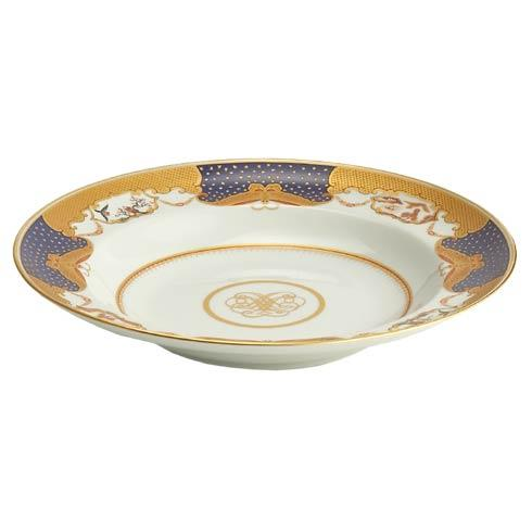 Mottahedeh  Golden Butterfly Rim Soup Plate $155.00