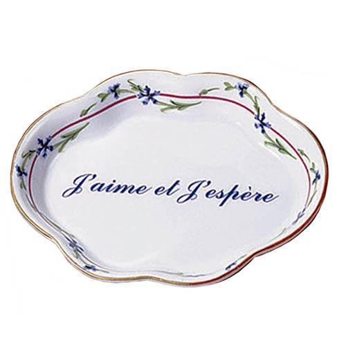 Mottahedeh  Monticello J'Aime Et J'Epere Verse Tray $40.00