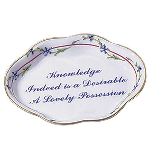 $40.00 Knowledge Indeed Is A Desirable Lovely Possession