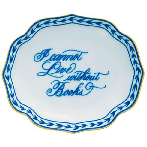 Books Oval  Verse Tray