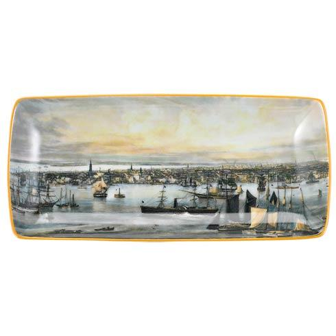 $45.00 New York Harbor Rectangular Tray, Small