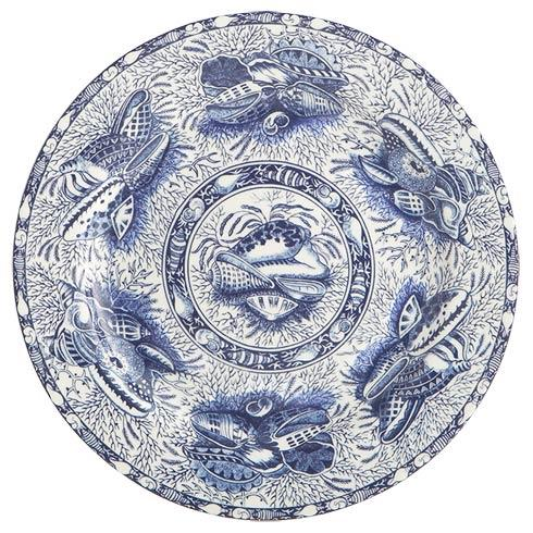 Mottahedeh  Blue Torquay Dinner Plate $30.00