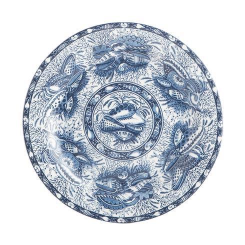 Mottahedeh  Blue Torquay Dessert Plate $25.00