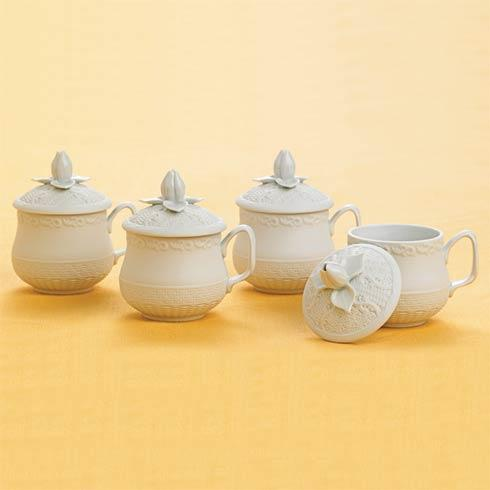 $300.00 Pot De Creme Set Of 4