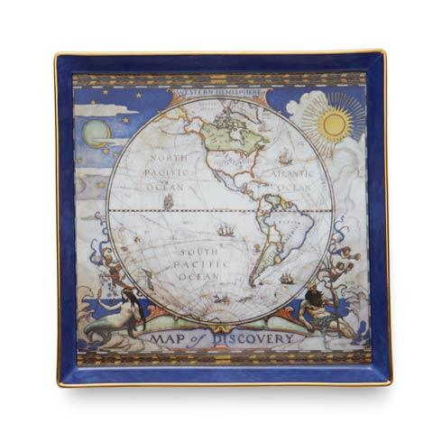 Map Of Discovery West Canapé Plate