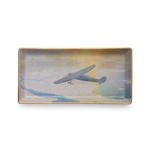 Mottahedeh  Wyeth Valiant Byrd Plane Pencil Tray $80.00