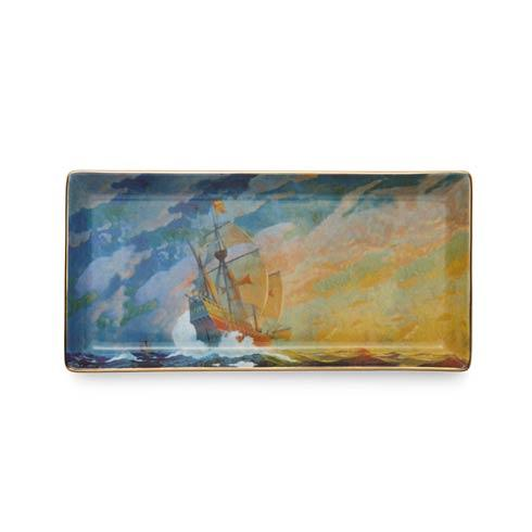 Columbus Caravel Ship Pencil Tray