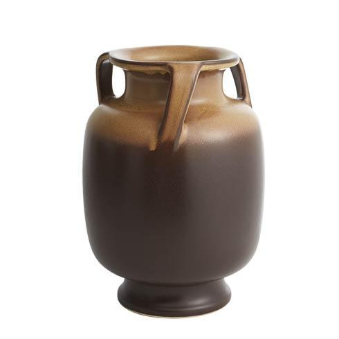 $585.00 Orion Barrel Jar-Gold & Brown