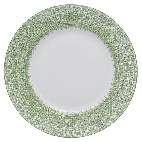 $60.00 Apple Green Lace Dinner Plate