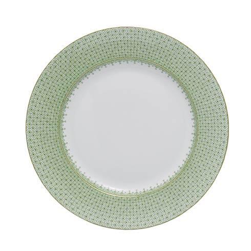 $55.00 Apple Green Lace Dessert Plate