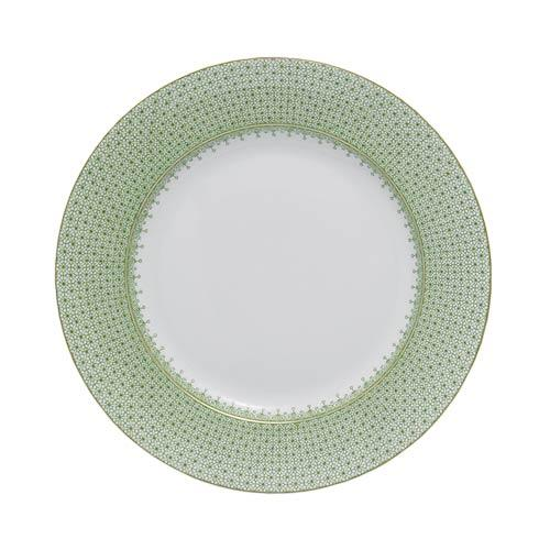 $55.00 Apple Green Lace Dessert Plate