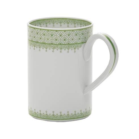 $75.00 Apple Green Lace Mug