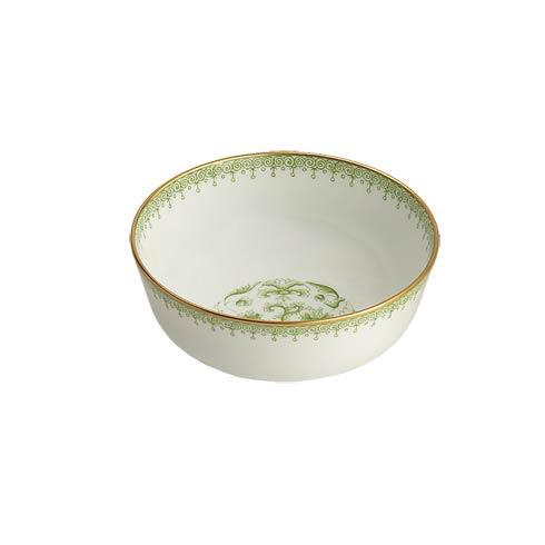 Mottahedeh Lace Apple Green Dessert Bowl $70.00