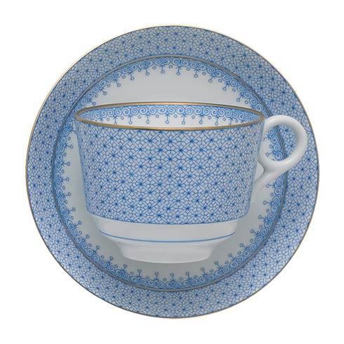 Mottahedeh Lace Cornflower Tea Cup & Saucer $90.00
