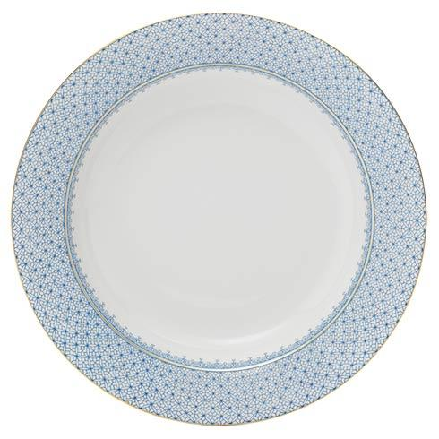 Mottahedeh Lace Cornflower Rim Soup Plate $60.00