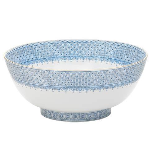Mottahedeh Lace Cornflower Round Bowl $175.00