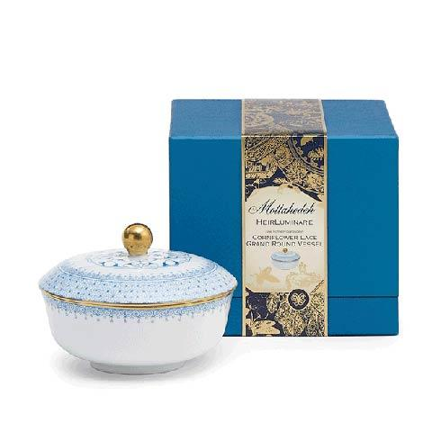 $85.00 Cornflower Lace Grand Round Box