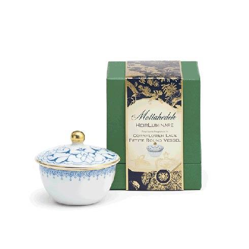 $65.00 Cornflower Lace Petite Round Box