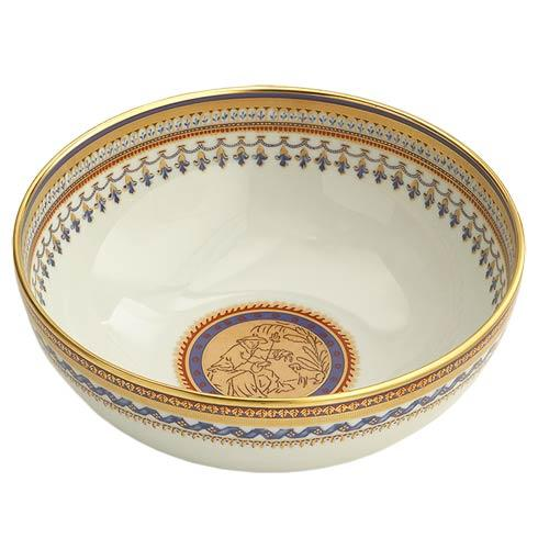 Mottahedeh  Chinoise Blue Round Bowl $255.00
