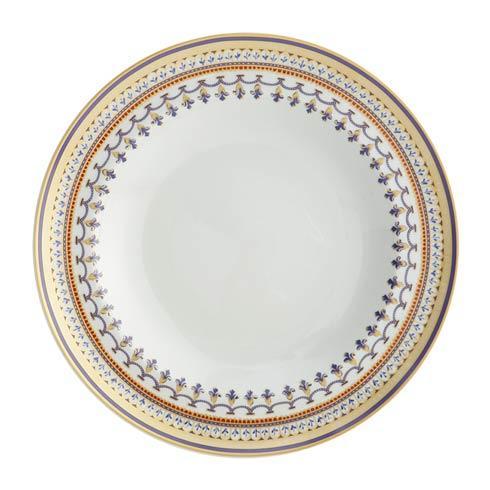 Mottahedeh  Chinoise Blue Rim Soup $155.00