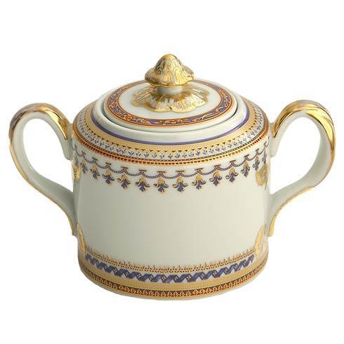 Mottahedeh  Chinoise Blue Sugar Bowl $220.00