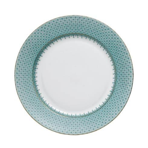 Mottahedeh Lace Green Dessert Plate $55.00