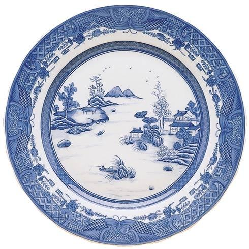 Mottahedeh  Blue Canton Dagger Mountain Plate $105.00