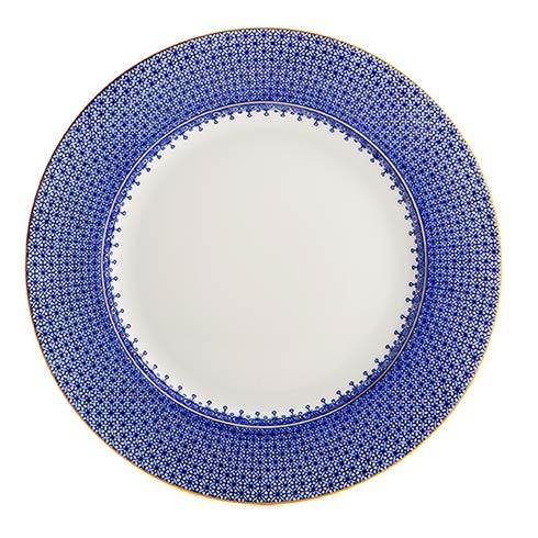 Mottahedeh  Lace Blue Lace Dinner Plate $90.00