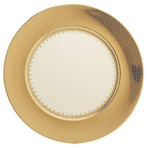 Mottahedeh Lace Gold Service Plate $170.00