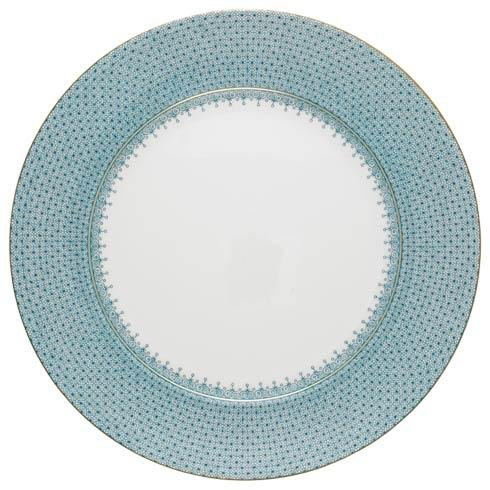 Mottahedeh Lace Turquoise Service Plate $135.00