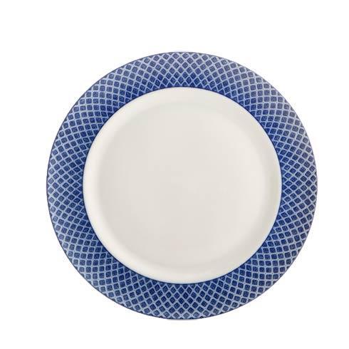 Mottahedeh Dragon Blue Dragon Dessert Plate $50.00
