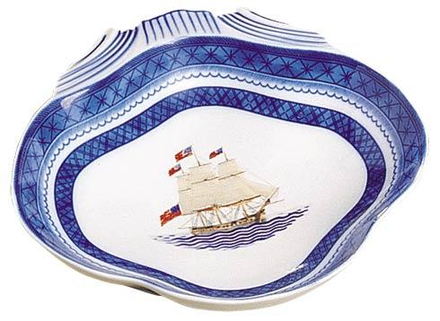 Mottahedeh  American Ships Constitution Shell Dish $95.00