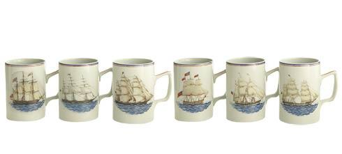 Mugs  Set of 6